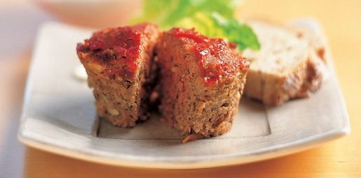Mini Beef and Pine Nut Meatloaves