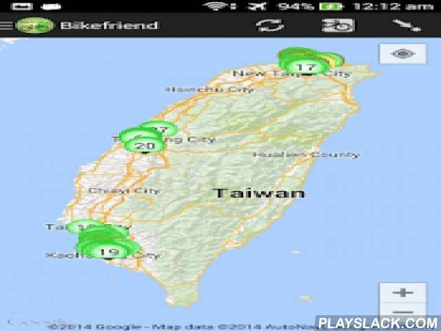 Bikefriend  Android App - playslack.com ,  Bikefriend is an assistant for the users of the YouBike service in Taipei, Changhua, Taichung, and for the users of the C-Bike service in Kaohsiung.This app is a free open source software, respect the user's privacy and contains no ads.Source code: https://github.com/le-moulin-studio/bike-friendFacebook Page: https://www.facebook.com/app.bikeFriend
