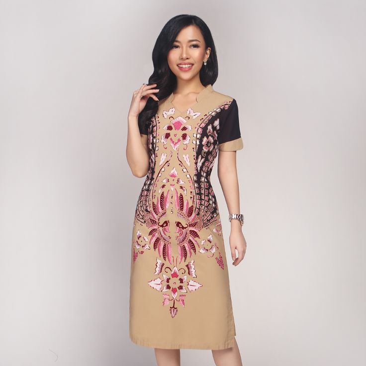 The Placement Of Batik Pattern Is Specifically Designed To
