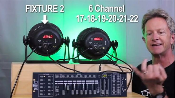 How to program DMX lights for beginners (simple lesson)