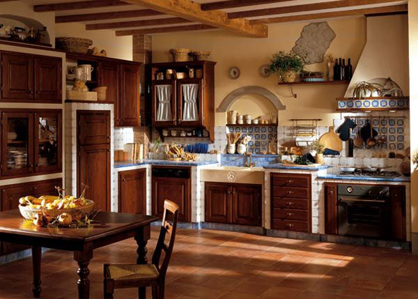 1000 images about kitchen on pinterest stove farmhouse kitchens and shabby - Cucine meravigliose ...