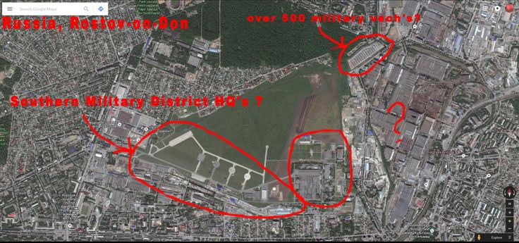 Rostov-on-Don Russia, HQ's of Southern Military District?