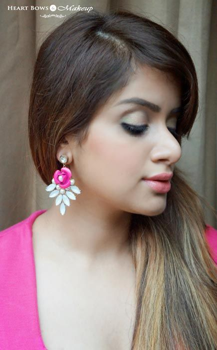 Best Coral Blush India: Faces Glam On Blush Coral Pink Swatch, FOTD & Review