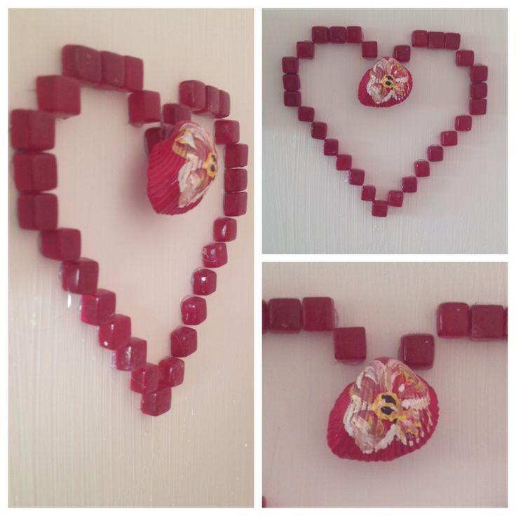 Kalp #boyama #aksesuar #oje #çiçek