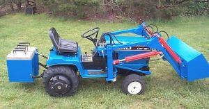 Ford LGT 18H garden tractor loader_1