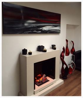 Buy Original Modern Art Paintings by UK Master Artist Gail Knight. Resin Art Gallery sells Vibrant Colourful Art Work created using Mysterious Abstract Style.