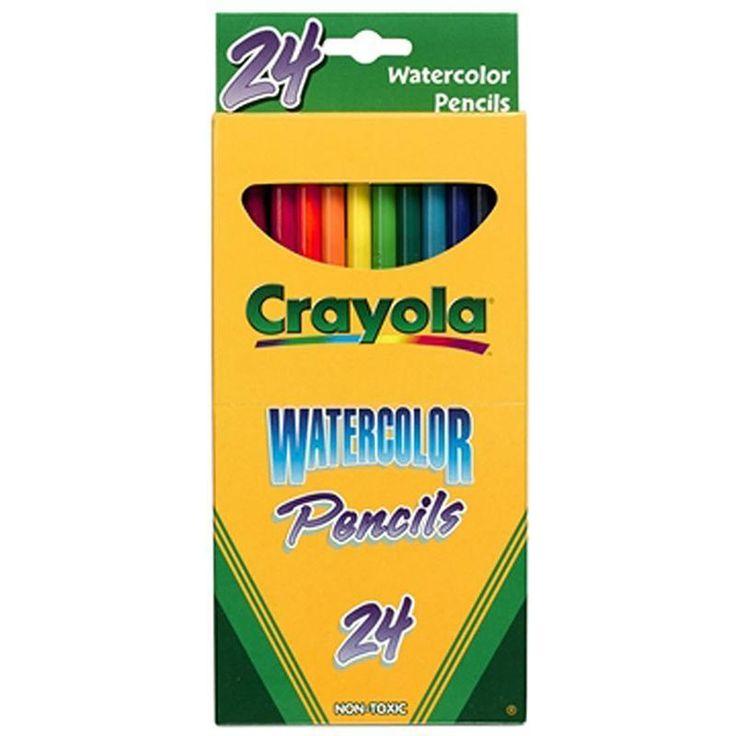 Crayola Watercolor Pencils 24 Color Watercolor Pencils