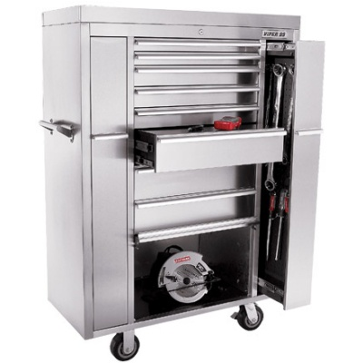 Oh yeah! All biz.Boxes Inch Tools, Drawers Stainless, Cabinets Viper, 304 Stainless, Cars Guys, 18G Stainless, 8 Drawers 18G, Garages Storage, Stainless Steel