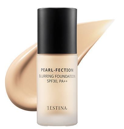 Blurring layer effect – Diffused reflection of lights caused by micro pearl pigments and pearl powder creates blurring layer which covers the skin perfectly. PEARL-FECTION BLURRING FOUNDATION LIGHT BEIGE. | eBay!