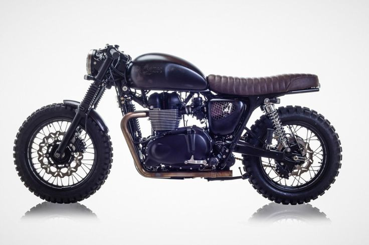 David Beckham's Triumph Bonneville Revamped by British Customs