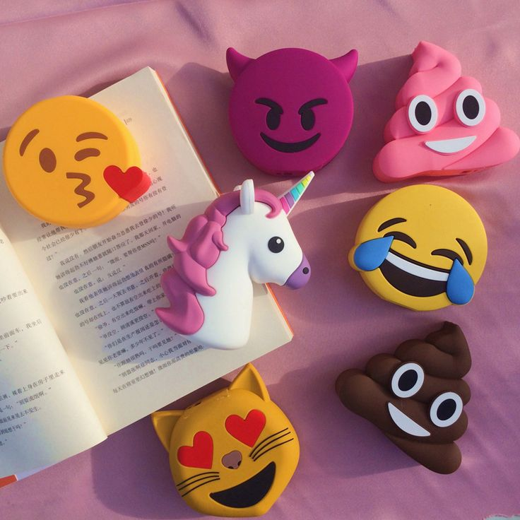 2016 Cute Cartoon Emoji Power Bank 2000 mah Soft PVC Smile tears demon Unicorn External Fun charger battery For All Mobile Phone //Price: $US $11.38 & FREE Shipping //     #ipad