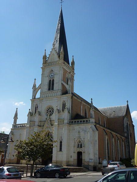 Écommoy, Sarthe. Pop: 4695