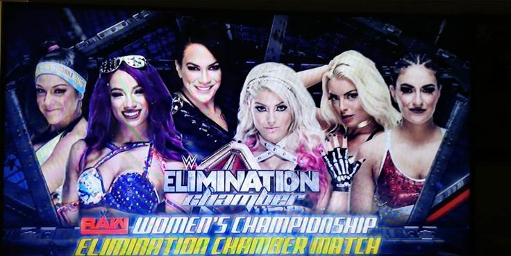 Alexa Bliss will defend the Women's Raw Championship in the Elimination Chamber event against 5 opponents of whom we still do not know her identity. A few days ago we reported that Sasha Banks, Nia Jax, Bayley, Mickie James and Sonya Deville will occupy the remaining positions in the Elimination Chamber Match, and this news could have been confirmed in the last hours.   ##AlexaBliss ##WWE #Bayley #MandyRose #NiaJax #SashaBanks #SonyaDeville #WrestlingNews