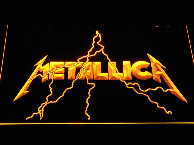 New Metallica LED Sign