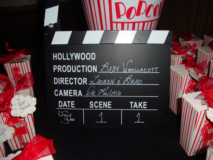 Event Confetti Party Time Movie Themed Baby Shower Baby Shower