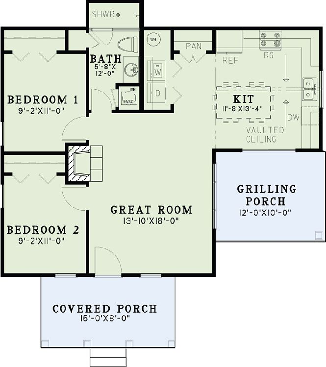 You might not think of yourself as a fan of Craftsman architecture, but the understated sophistication of these practical floor plans is too good to be overlooked. Take a peek through these floor plans and see for yourself!
