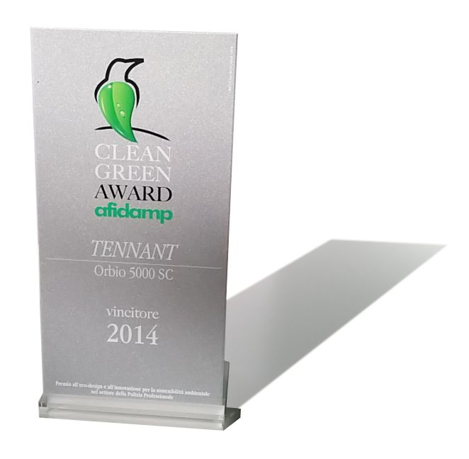 #Orbio 5000-Sc ha ricevuto il primo premio 2014-15 del concorso Clean Green Award di #Afidamp