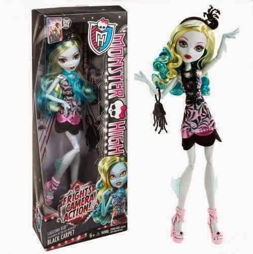 Monster High, Black carpet Lagoona blue. 24.99$ Achetez-le info@laboiteasurprisesdenicolas.ca 450-240-0007