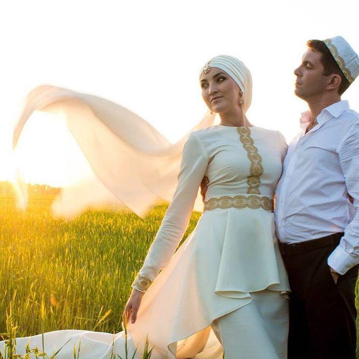 Прекрасная невеста Эльза.  #Макияж #никах #платок #платьедляникаха #фотографнаниках #фотосессиямосква