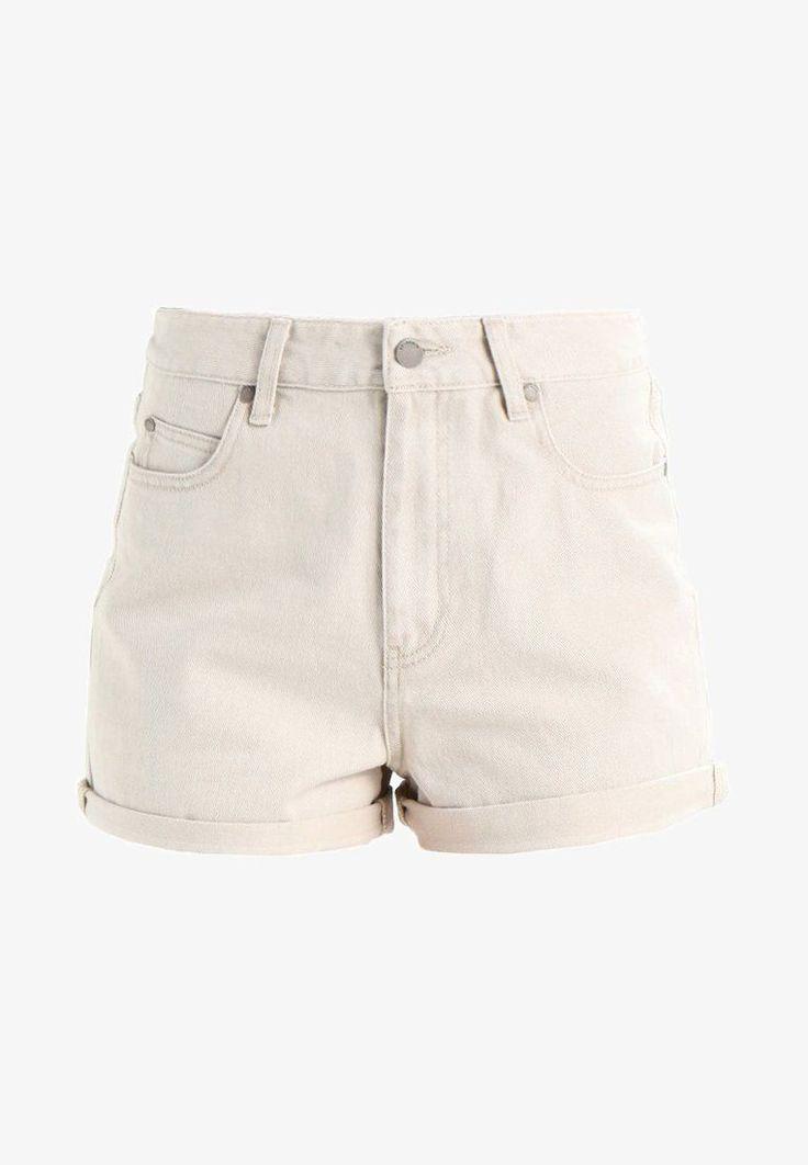 dr denim jenn jeans shorts buff beige zalando de jeans