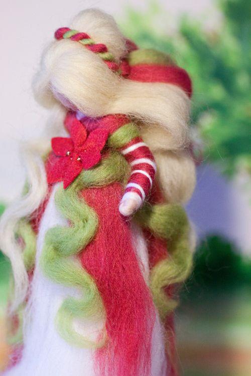 wool fairy, Weihnachtsfee aus Märchenwolle, fairy, felt, wool, craft, jahreszeitentisch, märchenwolle, waldorf, xmas
