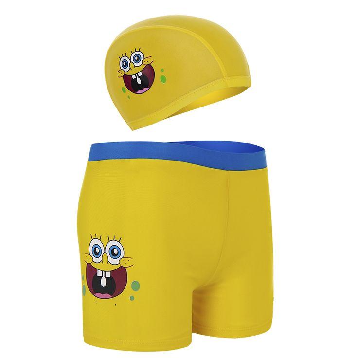 Woo стволы мальчик костюм детей плавательные очки шапочка для плавания ребенка купальники боксер раскол ребенка мужского пола ребенка большой мальчик -tmall.com Lynx