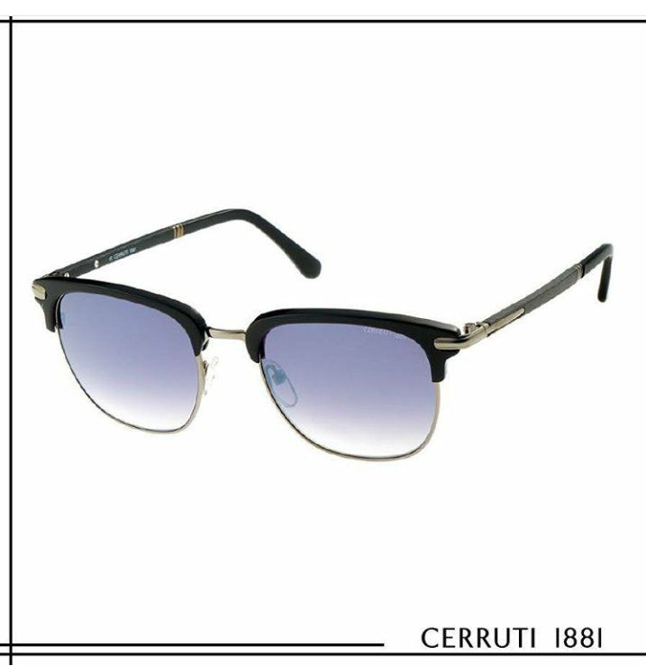 Cerruti Eyewear, continues to be the choice of fond man of elegance with a collection made for man