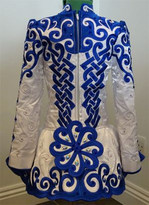 Beautiful Blue and White Back