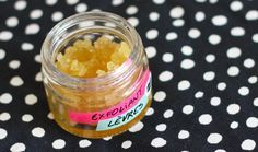 #DIY gommage pour lèvres maison http://www.modesettravaux.fr/gommage-pour-levres