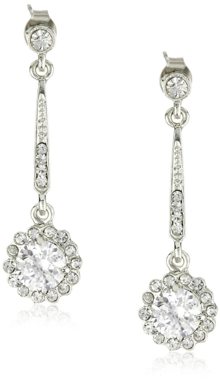 Nina Rachelle Vintage Inspired Drop Earrings