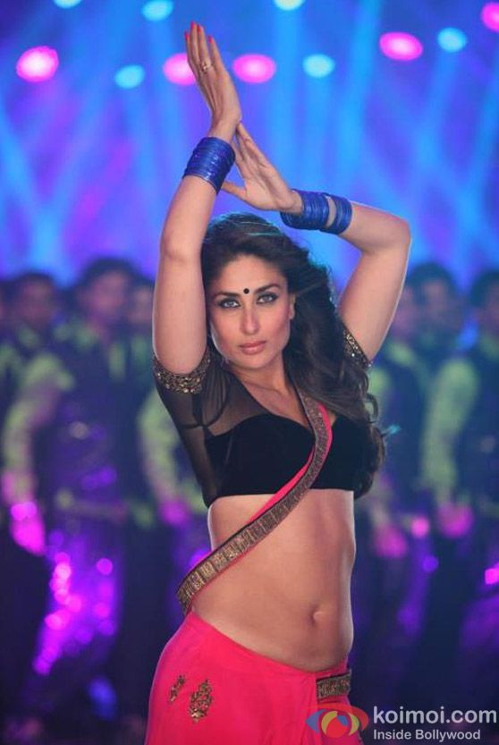 Kareena kapoor in a dance sequence from the movie  'Heroine'