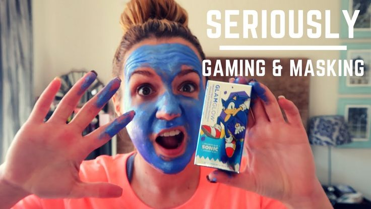 I was sent a GLAMGLOW Mask. It is a collectible Sonic Blue Gravity Firming Treatment Mask that goes an awesome glowing blue. I figured it would be the perfec...