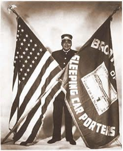 The Brotherhood of Sleeping Car Porters, organized in 1925, was America's first African American Labor Union to receive a charter in the American Federation of Labor. The Brotherhood was formed when a small group of porters went to A. Philip Randolph and sought his help in the creation of a union of porters.