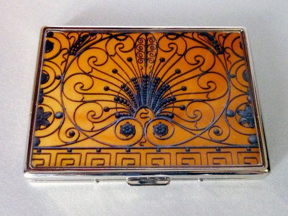 Cigarette Case, Gramercy Gate Cigarette Case, Wallet, NYC Cigarette Case