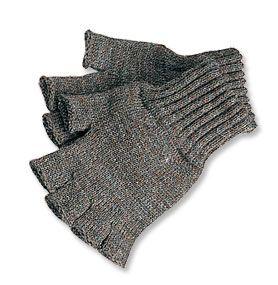 Wool Fingerless Gloves / Men's Barbour® Fingerless Gloves -- Orvis
