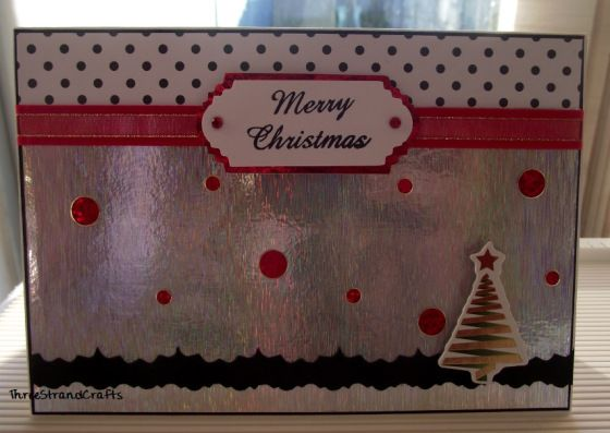 Christmas Card and Peel-offs