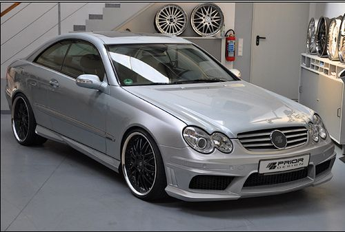 I Need this Prior Design Mercedes-Benz W209 CLK 430 55 AMG aerodynamic kit front rear sides /