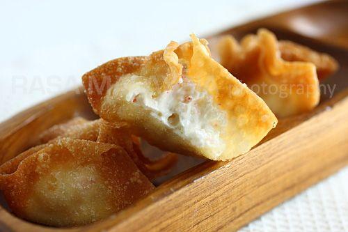 Crab Rangoon (Cream Cheese Wontons)