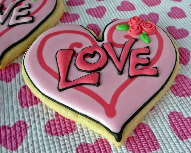 365 best Pretty Cookies - Valentine\'s Day images on Pinterest ...