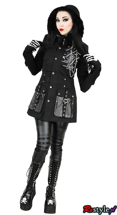 Punk Rave Y 222 Fall Winter Military Gothic With Buckles Jacket Clothing Outwear Restyle Pl Amazing Clothing Pinterest Gothic Jackets And