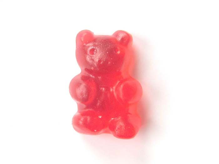 homemade vegan gummy bears [more at pinterest.com/eventsbygab]