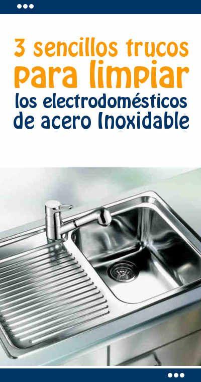 3 sencillos trucos para limpiar los electrodom sticos de for Trucos para limpiar el bano