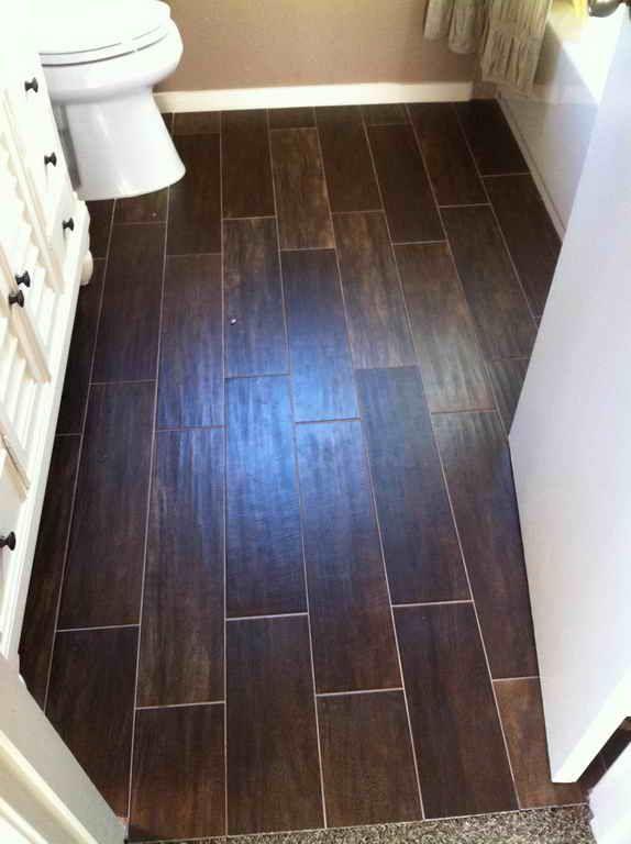 Bathroom Ideas Wood Look Tile Bathroom Floor Luxurious
