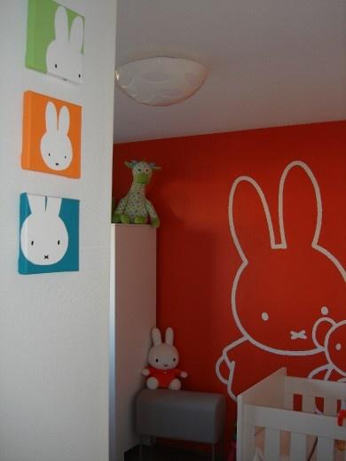 Babykamers op babybytes: Phoebe`s-Nijntje-kamer