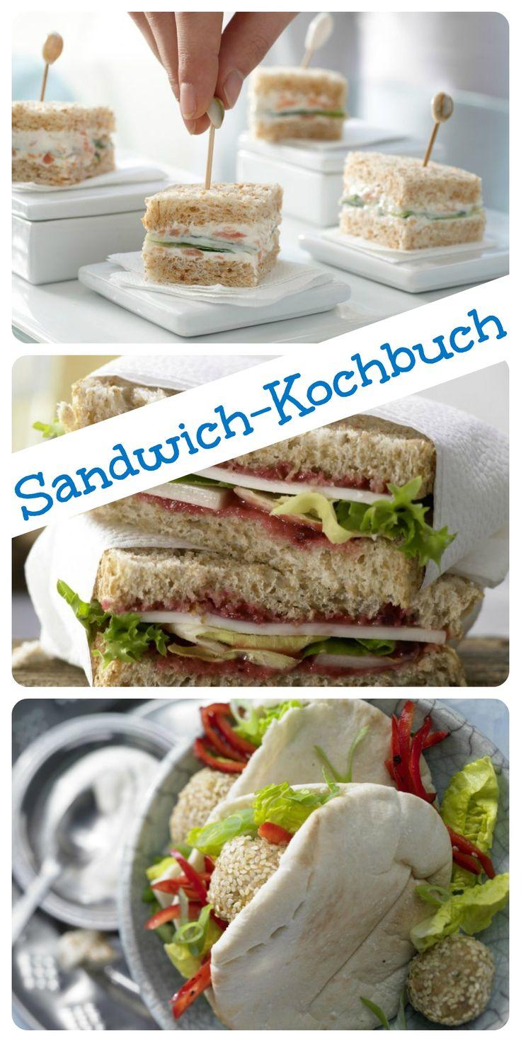 Gut gestapelt! Ob vegetarische Club-Sandwiches oder tolle Piratenbrote für Kinder. Hier ist für jeden etwas dabei: Sandwich-Kochbuch | http://eatsmarter.de/rezepte/rezeptsammlungen/sandwich-fotos#/0