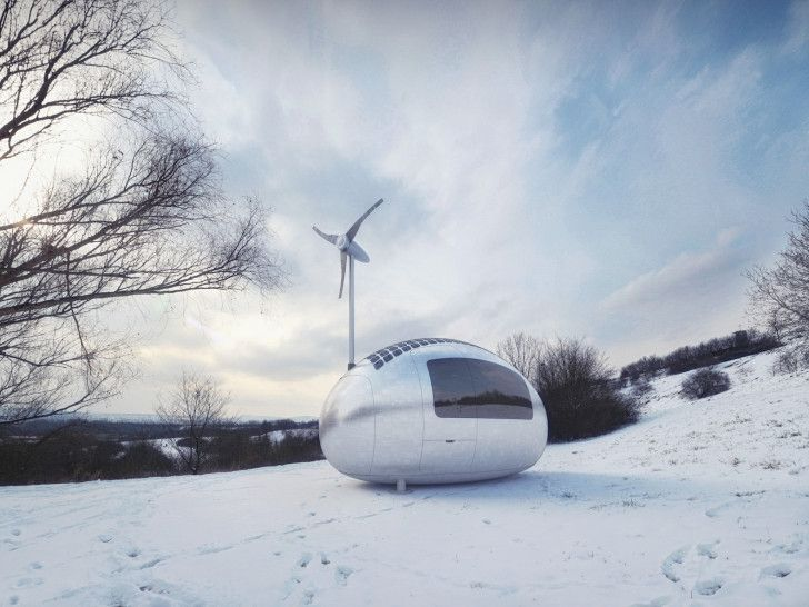 Solar-powered Ecocapsule lets you live off-the-grid anywhere i...
