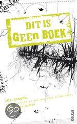 #Boekentip Papiergoed nr. 16: Dit is geen boek | Een boek waarmee je dingen MOET doen die je moeer zou verbieden. Altijd goed!
