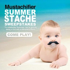 The Mustachifier- A Cool Baby Gift!