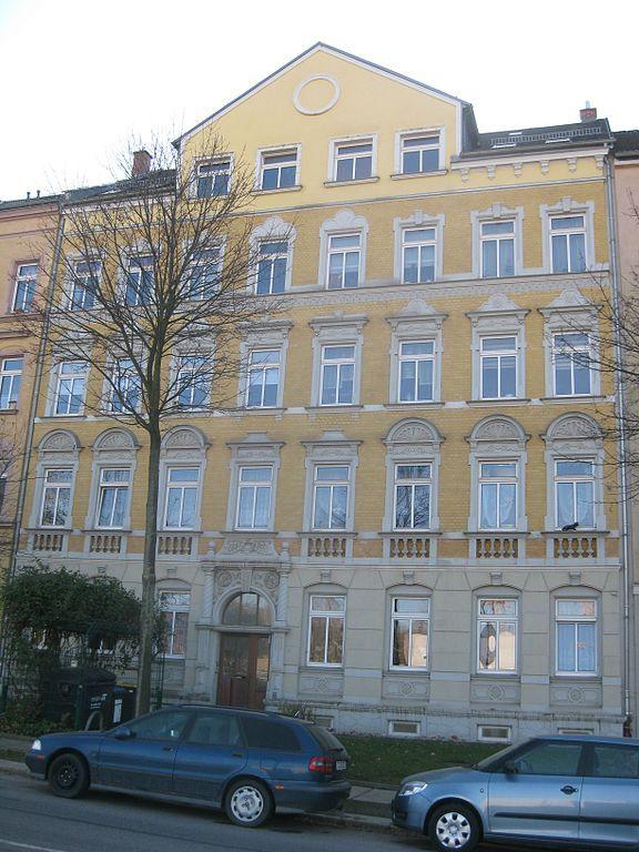 Cultural heritage building, Heinrich Schütz Straße, Chemnitz-Sonnenberg, Germany.  #ToHellAndBack #MariaRosaAuthor #architecture #history #Chemnitz #Germany #travel #EU