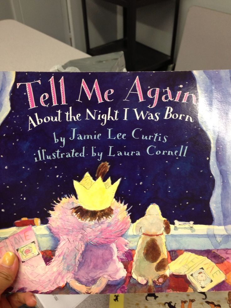 """""""Tell Me Again About the Night I was Born"""" one of my faves as an adopted child growing up! I still could probably quote most of the book! :)"""